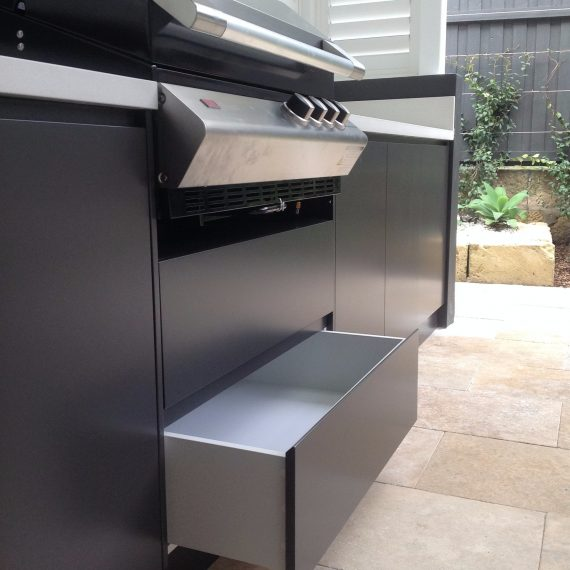 Custom Made Outdoor BBQ Kitchen